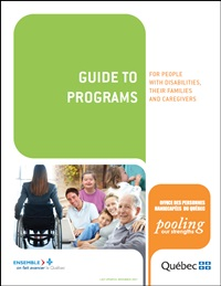 Guide to Programs for People with Disabilities, Their Families and Caregivers.