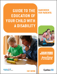 Guide to the education of your child with a disability.